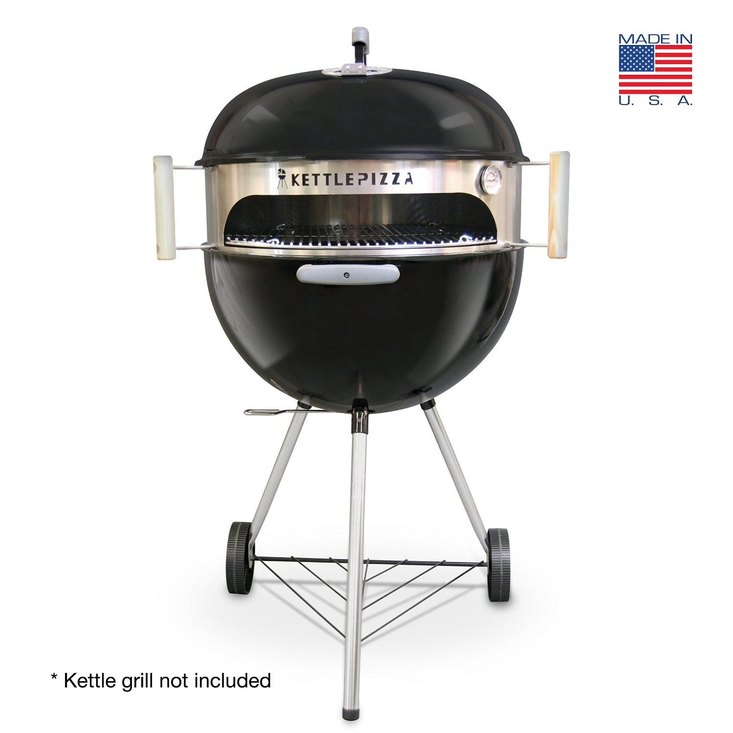 kettle pizza notre avis sur le four pizza barbecue. Black Bedroom Furniture Sets. Home Design Ideas